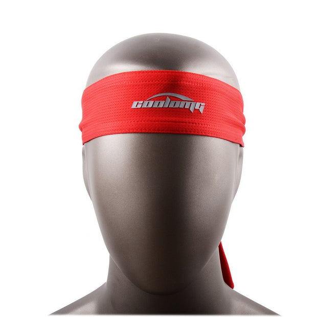New Tennis Men Headband Sports Basketball Volleyball Soccer Red Training Head Band