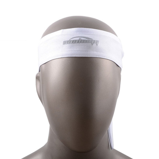 New Tennis Men Headband Sports Basketball Volleyball Soccer White Training Head Band
