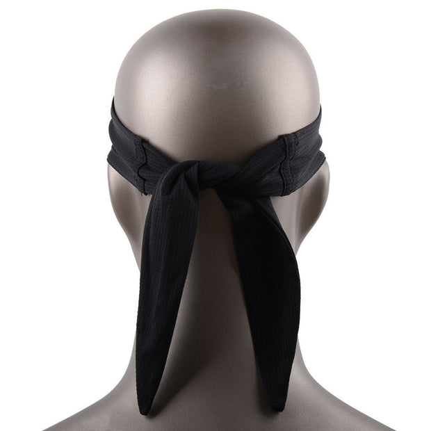 New Tennis Men Headband Sports Basketball Volleyball Soccer Training Black Head Band