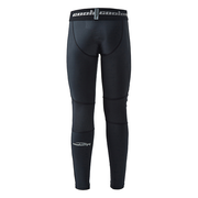 Boys Black Basketball Running Tights