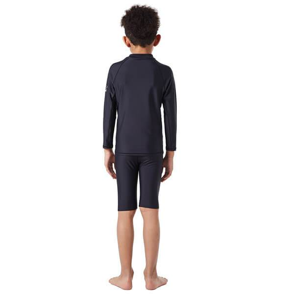 Boys' Long Sleeves Rash Guard Set