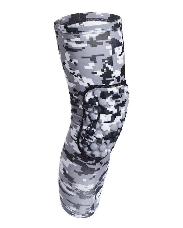 Digital Camo Long Basketball Knee Pads 1 Pair