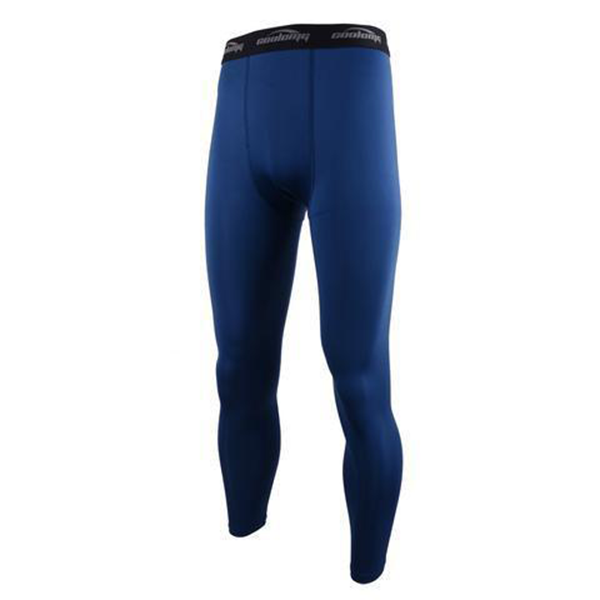 Dark Blue Compression Pants for Men Youth Boys