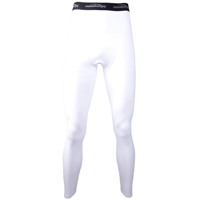 White Compression Pants for Men Youth Boys