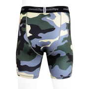 Men's Training Shorts Light Green Camo