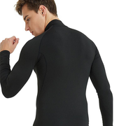 Men's Thermal Fleece Lined High Collar Shirts