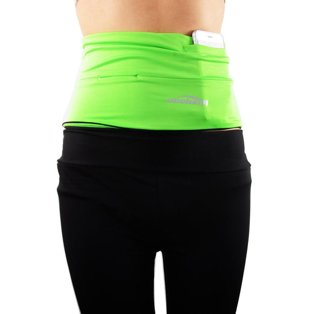 Green Running Belt