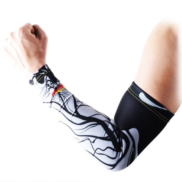 Compression Arm Sleeve for Youth & Adults-Gray