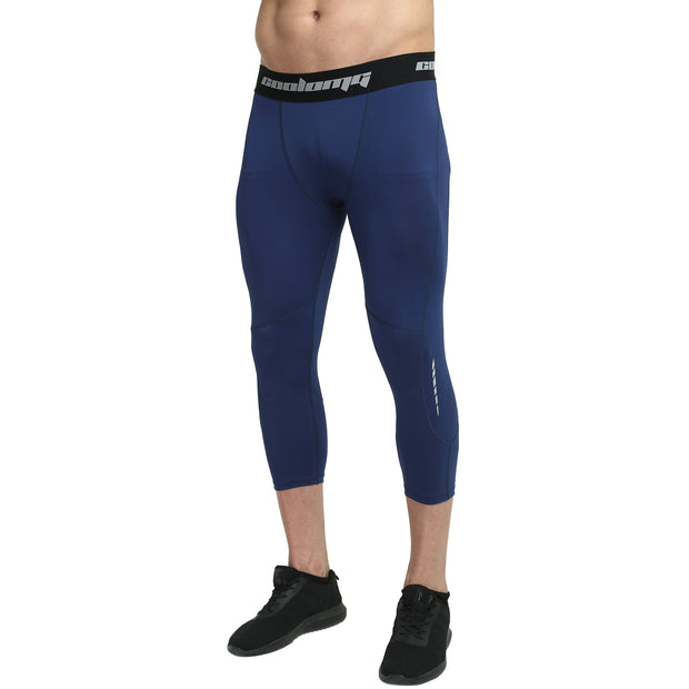Navy 3/4 Tights Pants for Youth & Men