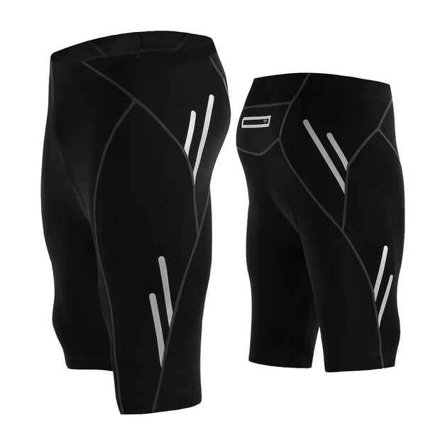 4D Padded Cycling Shorts with Pocket for Men