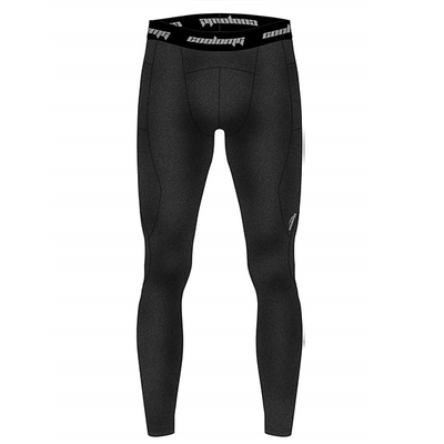 Men's Thermal Compression Base Layer Pants with Pocket Black XS-XL