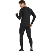Men's Thermal Compression Base Layer Pants with Pocket