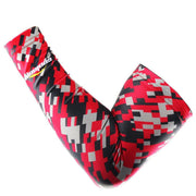 COOLOMG 1PCS Youth/Adult Compression Arm Sleeve Digital Camouflage Pink