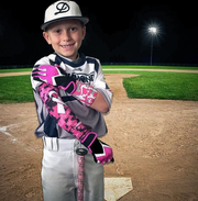 1 Piece COOLOMG Ribbon Breast Cancer Awareness Arm Sleeve Basketball Baseball Football