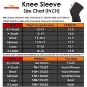 Basketball Compression Knee Sleeves