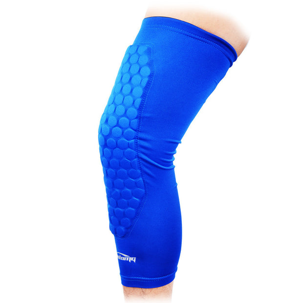 Basketball Long Leg Knee Sleeve with Extra Full Cover Pads