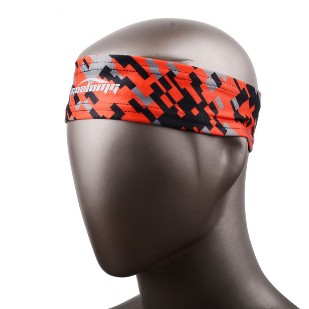 Orange Black Headband