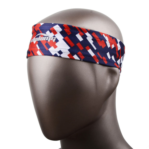 Red Blue Headband