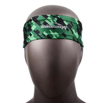 Green Black Headband