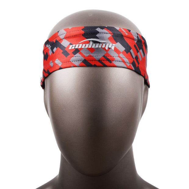 Red Black Headband