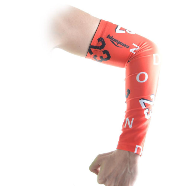 Forever Number 23 Anti-slip Red Arm Sleeve
