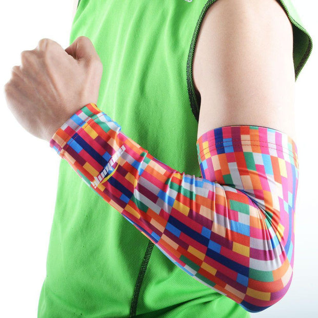 Rainbow Anti-slip Arm Sleeve