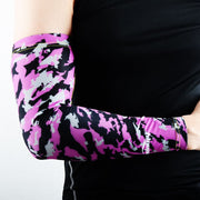 Camo Purple Compression Arm Sleeve