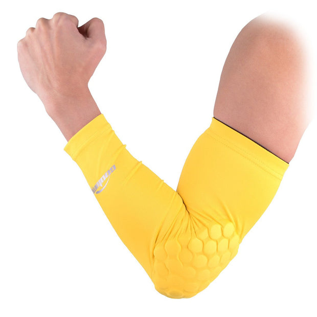 Yellow Padded Arm Sleeve