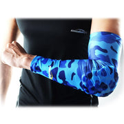 Camouflage Blue Arm Sleeve with Pad
