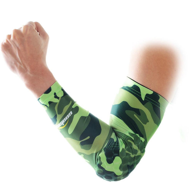 Camouflage Green Arm Sleeve with Pad