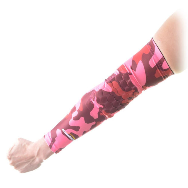 Camouflage Pink Anti-slip Arm Sleeve with Pad