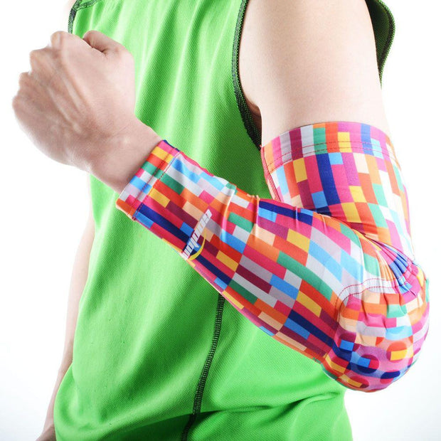 Rainbow Arm Sleeve with Pad