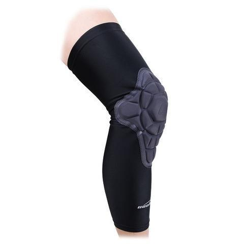 Basketball Long Leg Knee Sleeve with Thick Pads