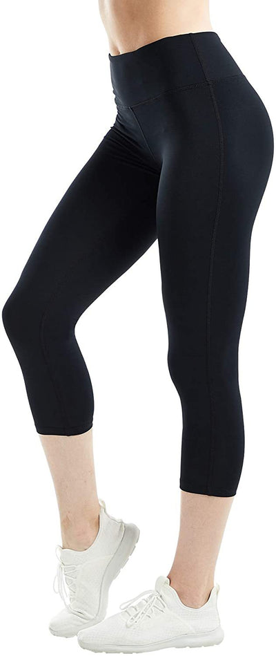 Women Compression Yoga Capris Pants