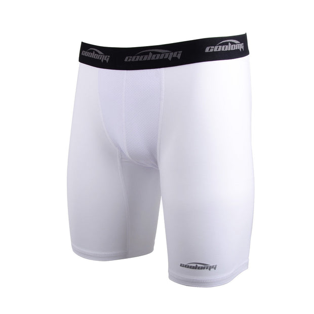 "Men's White 6"" Training Shorts"