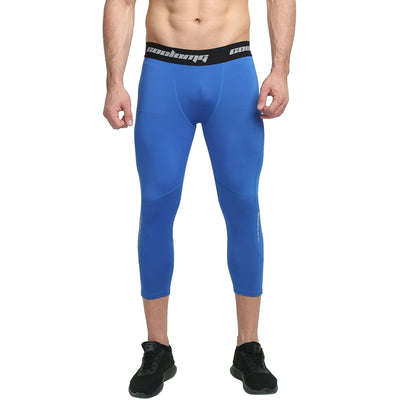 3/4 Tights | Blue