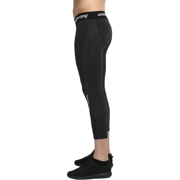 Black 3/4 Tights Pants for Youth & Men