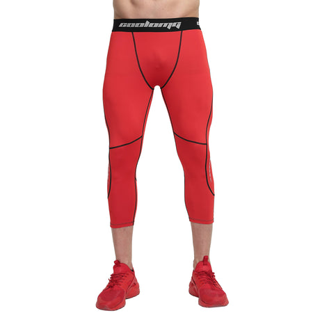 3/4 Tights | Red