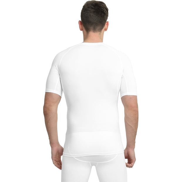 Men's Compression Shirt | White