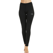 Women's  Black Compression Thermal Pants