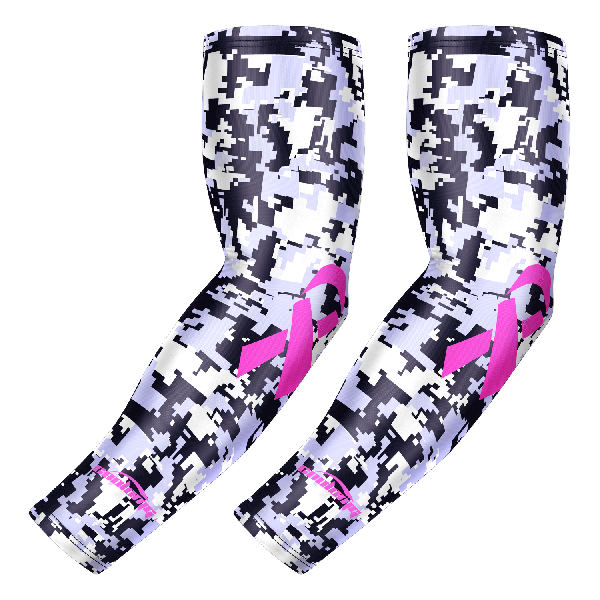 Ribbon Breast Cancer Awareness Arm Sleeve