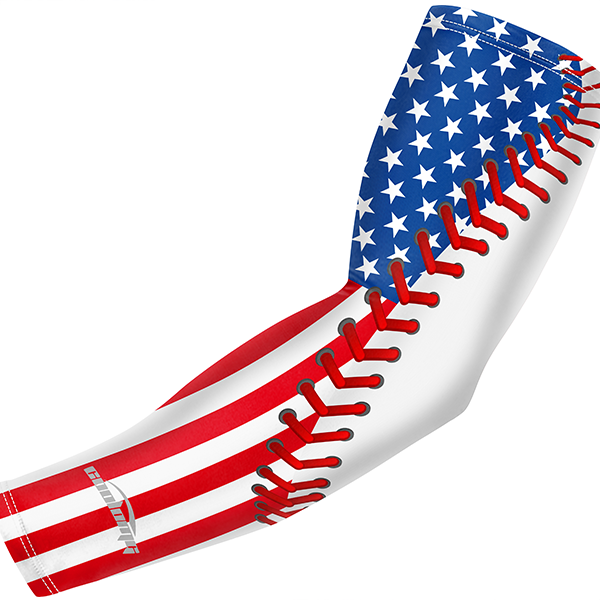 Baseball Printed Anti-slip Arm Sleeve