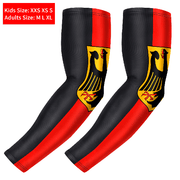 Germany Flag UV Protection Arm Compression Sleeve