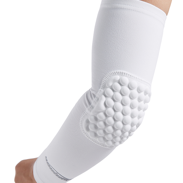 White Anti-slip Arm Sleeve with Pad
