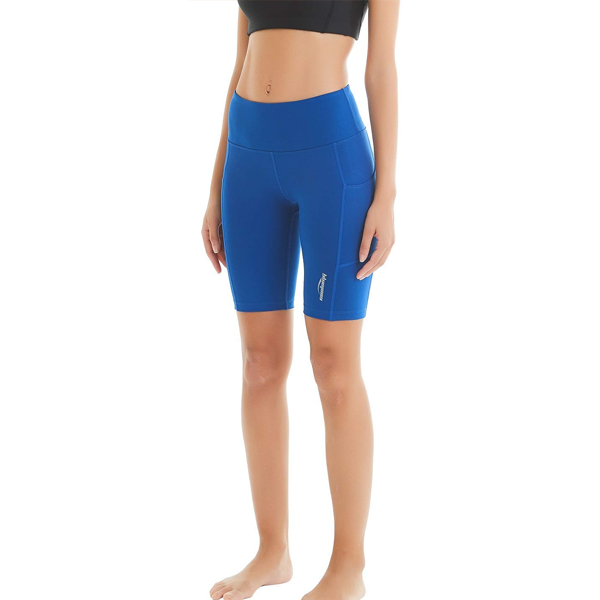 Women's Yoga Shorts with Side Pockets