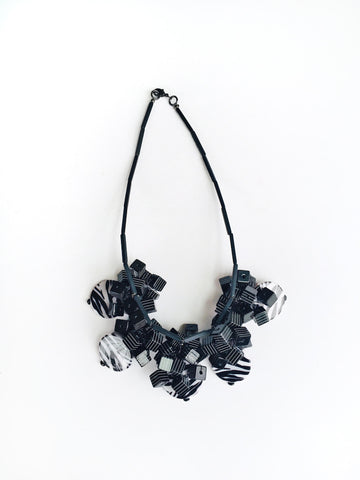 Black Stripes Necklace