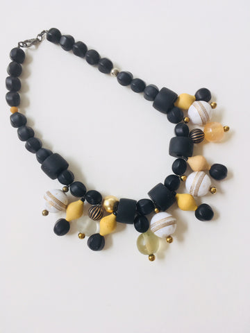 Black Resin with Baubles