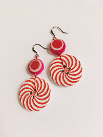 Peppermint Earrings