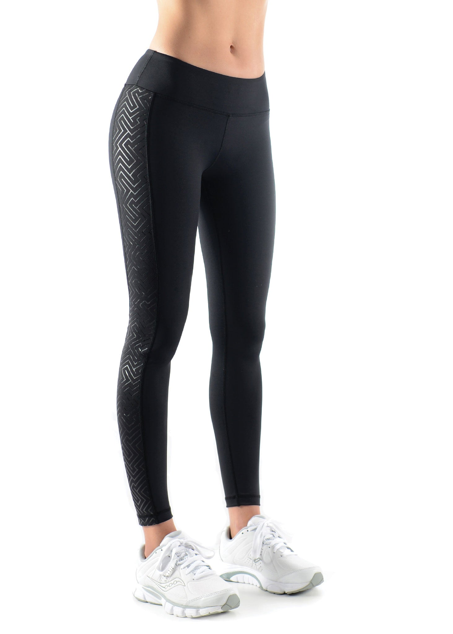Magestic Maze F/L Compression Tights