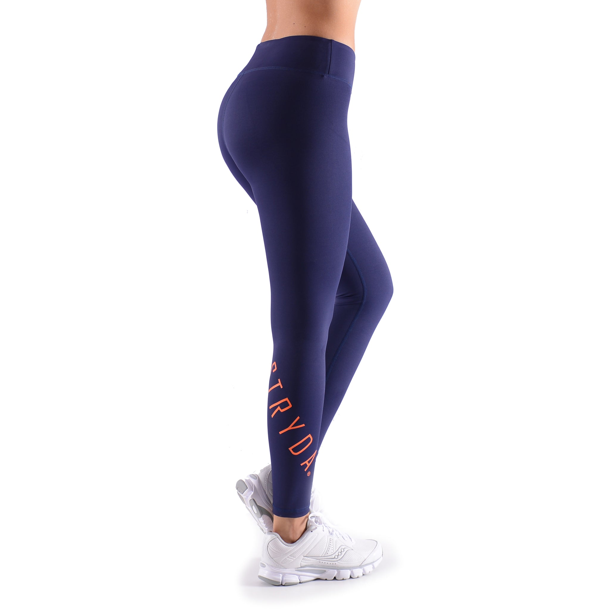 ORANGE PANTHER Ankle Biter Length Compression Tights